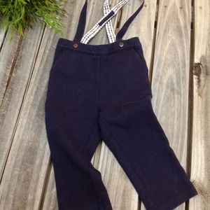 Suspender knit pants Janie & Jack baby/toddler 12m